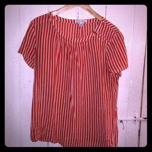 Banana Republic short sleeve blouse